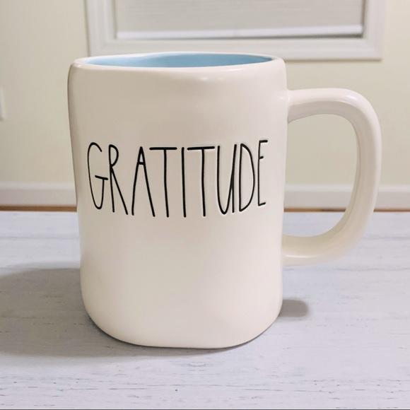 Rae Dunn GRATITUDE mug gratitude